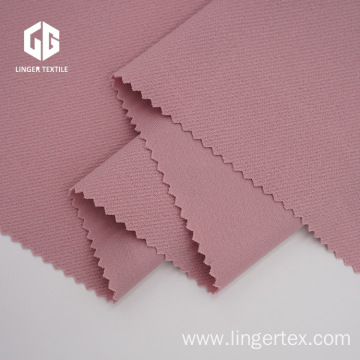 Twill Knitted Fabric Polyester Crepe with Spandex